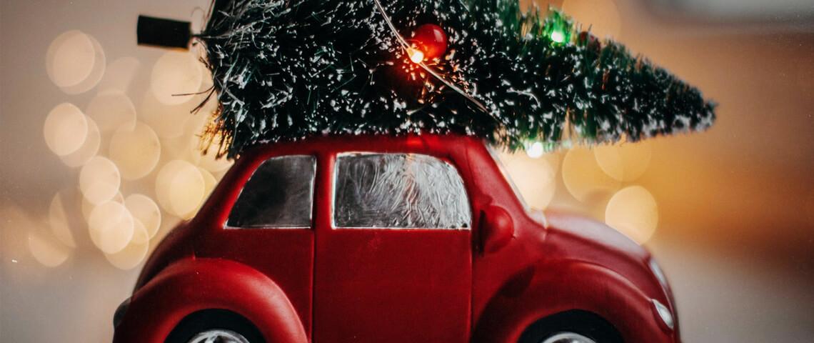 6 alternatieve auto tips voor tijdens de kerst